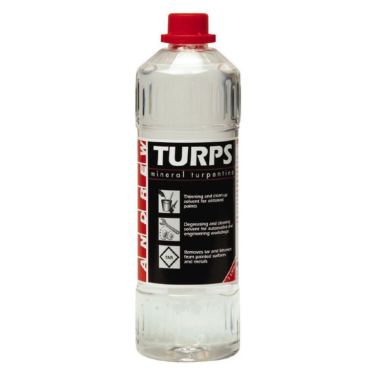 Andrew Mineral Turpentine 1L, , hi-res