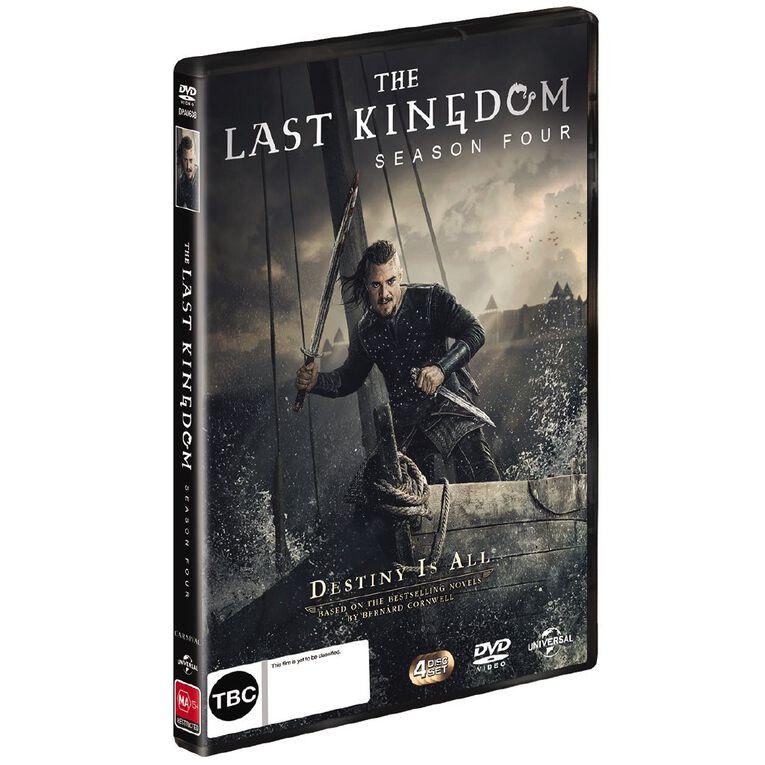 4DVD The Last Kingdom Season 4 DVD 4Disc, , hi-res