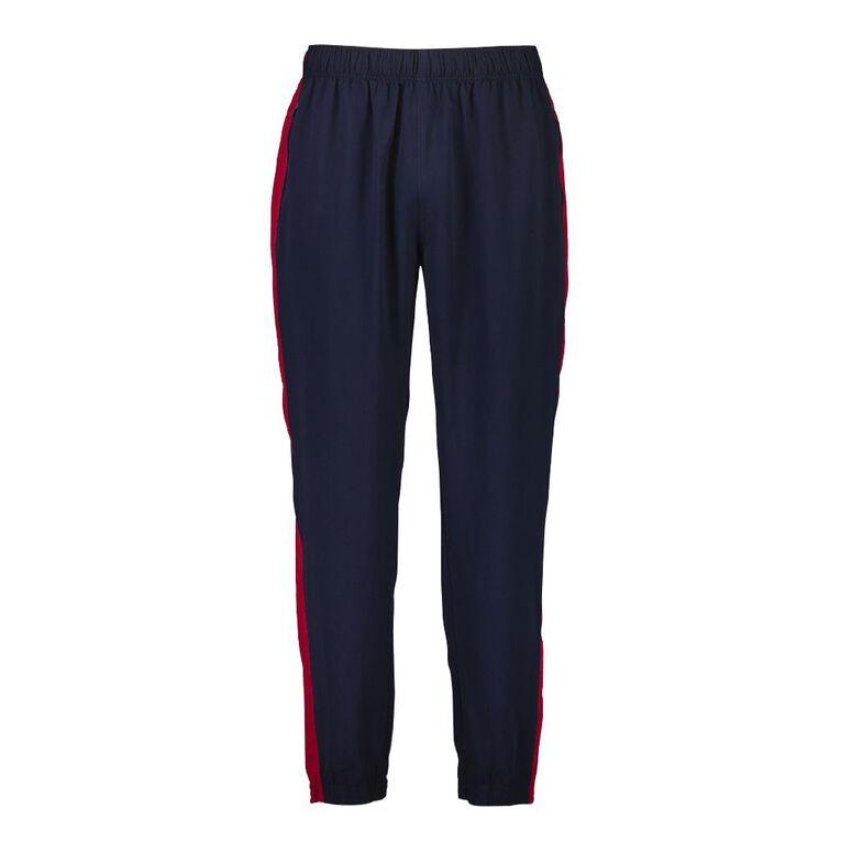 Active Intent Men's Side Panel Elastic Hem Pants, Navy, hi-res