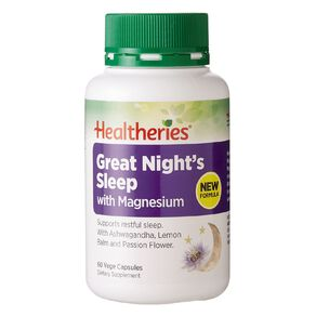 Healtheries Great Night's Sleep with Magnesium 60s