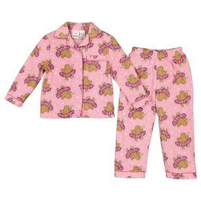 H&H Girls' Fleece Pyjamas