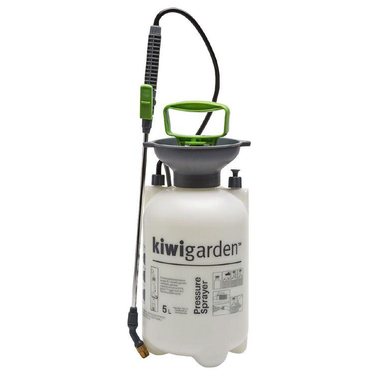 Kiwi Garden Pressure Sprayer 5L, , hi-res