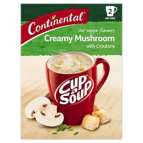 Continental Cup A Soup Creamy Mushroom 2 Pack