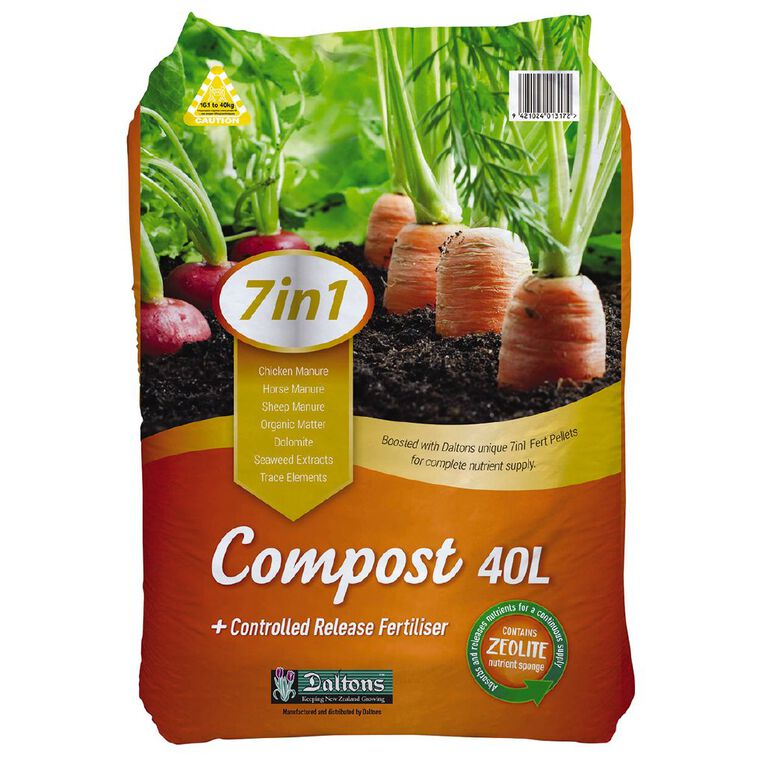 Daltons 7-in-1 Boosted Compost 40L, , hi-res