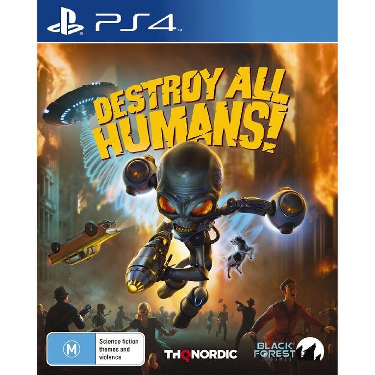 PS4 Destroy All Humans, , hi-res