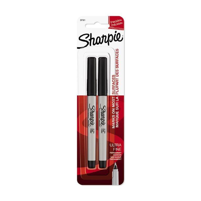 Sharpie Ultrafine Black 2 Pack, , hi-res