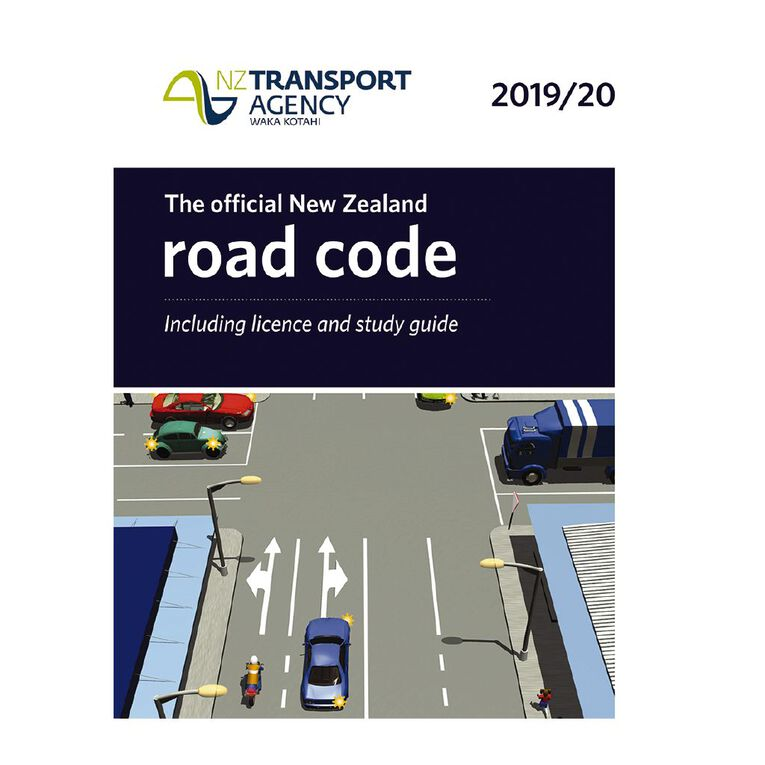 New Zealand Road Code 2019/20 by NZ Transport Agency, , hi-res