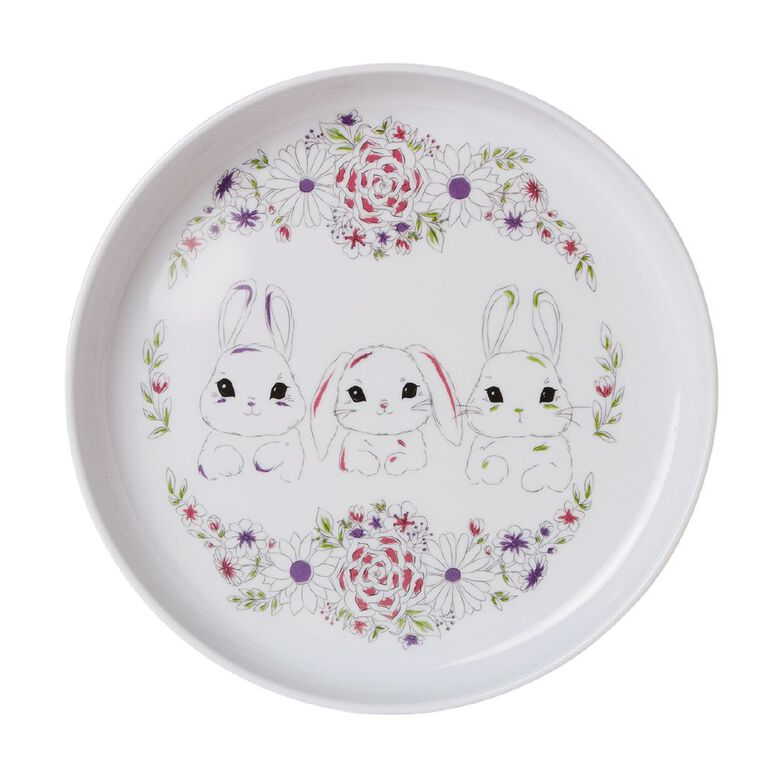 Living & Co Kids Bunny Plate, , hi-res image number null