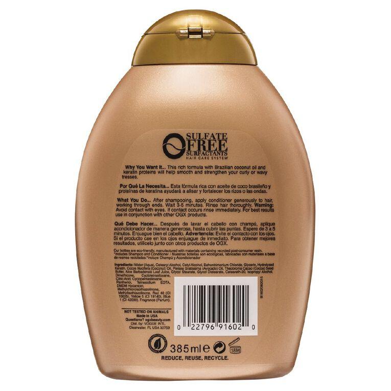 OGX Brazilian Keratin Therapy Conditioner 385mL, , hi-res