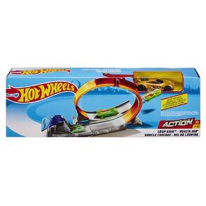 Hot Wheels Classic Stunt Entry Track Set Assorted