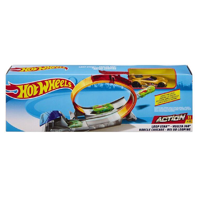 Hot Wheels Classic Stunt Entry Track Set Assorted, , hi-res