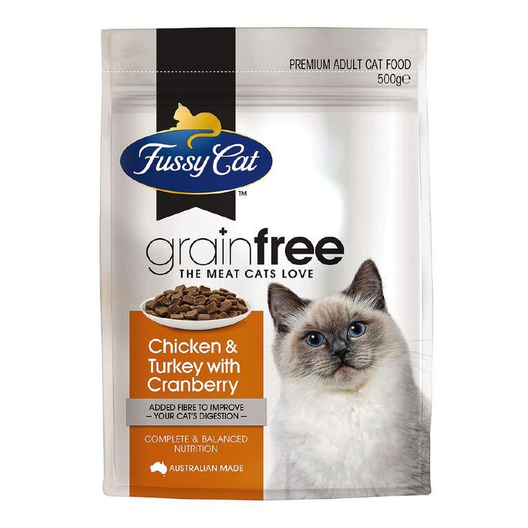 Fussy Cat Grain Free Chicken & Turkey 500g, , hi-res
