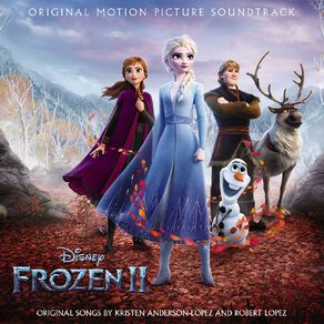Frozen 2 Soundtrack CD by Various Artists 1Disc