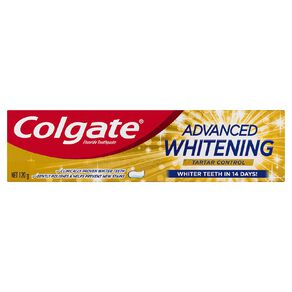 Colgate Advanced Whitening and Tartar 120g
