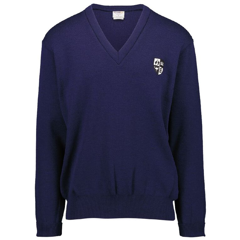 Schooltex Opihi College Jersey with Embroidery, ROYAL DK-110126168-1, hi-res