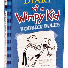 Diary of a Wimpy Kid #2 Rodrick Rules by Jeff Kinney N/A