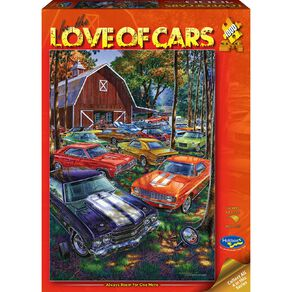 Holdson Puzzle For The Love Of Cars 1000 Piece