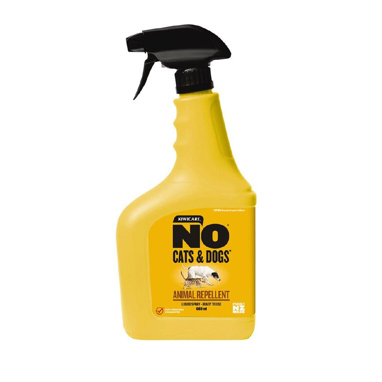Kiwicare NO Cats and Dogs Animal Repellent Ready To Use 680ml, , hi-res image number null
