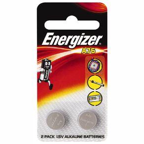 Energizer Alkaline Calculator Battery A76 2 Pack