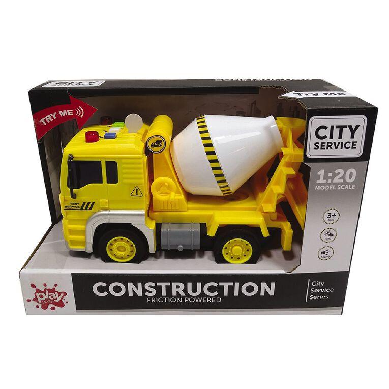 Play Studio Light & Sound 1:20 Construction Truck, , hi-res