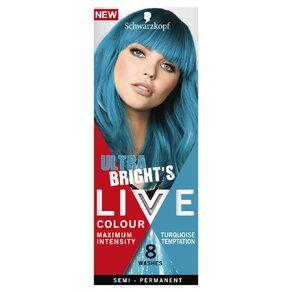 Schwarzkopf Live Colour Ultra Brights Turquoise Temptation