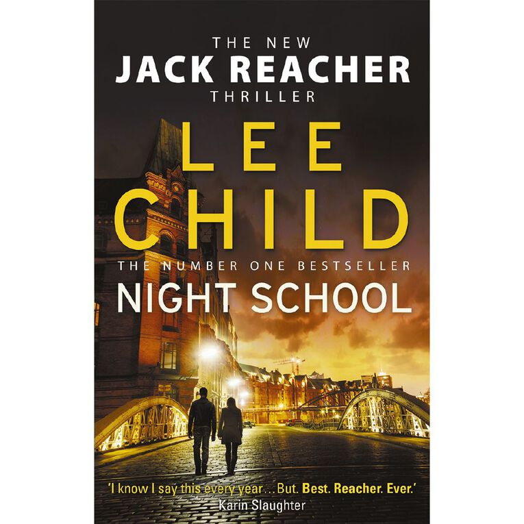 Night School by Lee Child, , hi-res