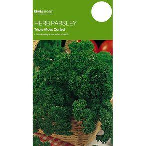 Kiwi Garden Herb Parsley Triple Moss Curled