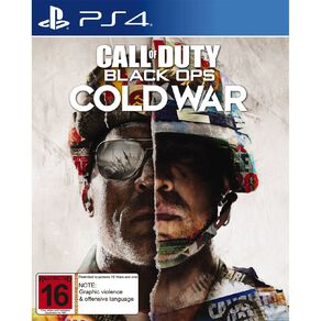 PS4 Call of Duty Black Ops: Cold War