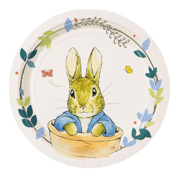 Peter Rabbit Beatrix Potter Paper Plates 18cm 8 Pack, , hi-res