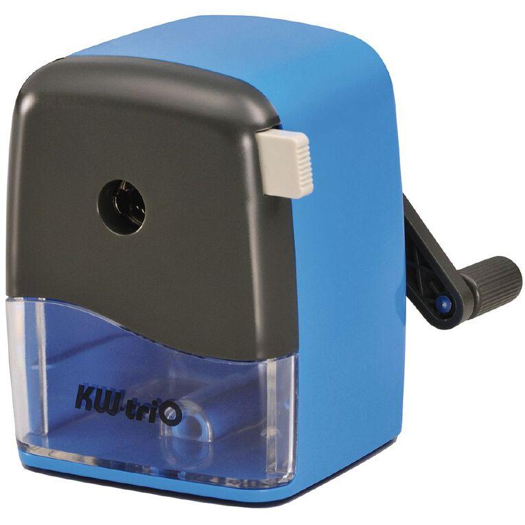 Pilot KW-triO Desktop Pencil Sharpener Adjustable Fit Blue, , hi-res