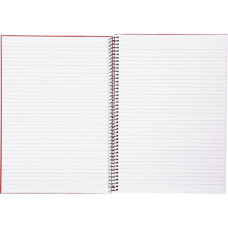 WS Notebook Wiro 200 Pages Hard Back Red A4, , hi-res image number null