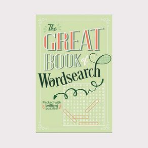 The Great Book of Wordsearch by Eric Saunders