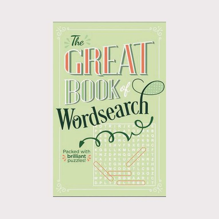 The Great Book of Wordsearch by Eric Saunders, , hi-res