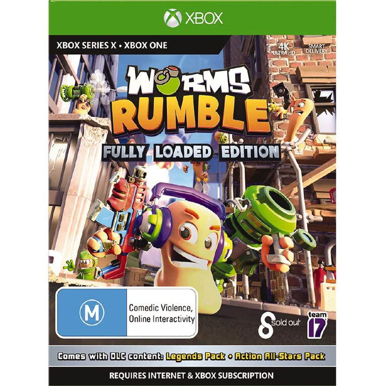 XboxOne Worms Rumble Fully Loaded Edition, , hi-res