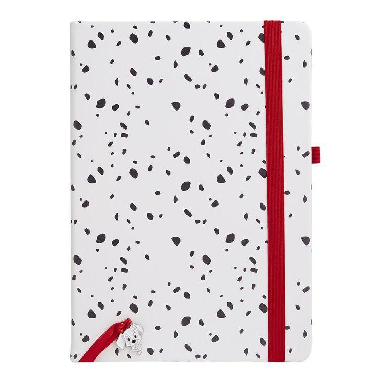 101 Dalmatians Disney PU All Over Print Notebook White A5, , hi-res