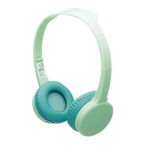 Tech.Inc Wireless Kids Headphone Volume Limited Green