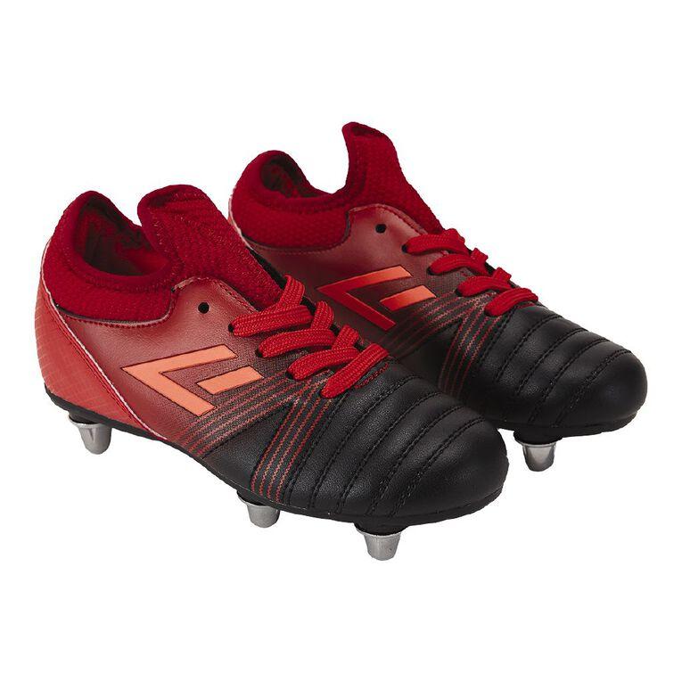 Active Intent Line Shoes, Red/Black, hi-res