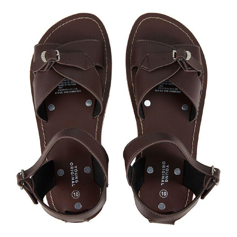 Young Original Senior Cambridge Sandals, Brown, hi-res