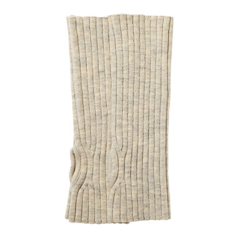 H&H Women's Rib GL Gloves, Brown Mid, hi-res