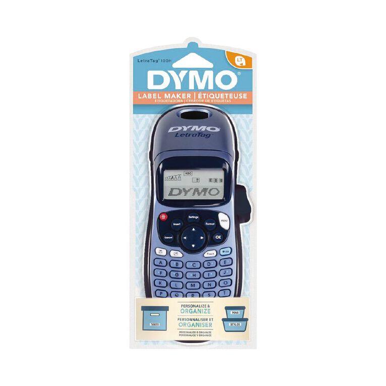 Dymo LetraTag LT100H Handheld Label Maker Blue, , hi-res