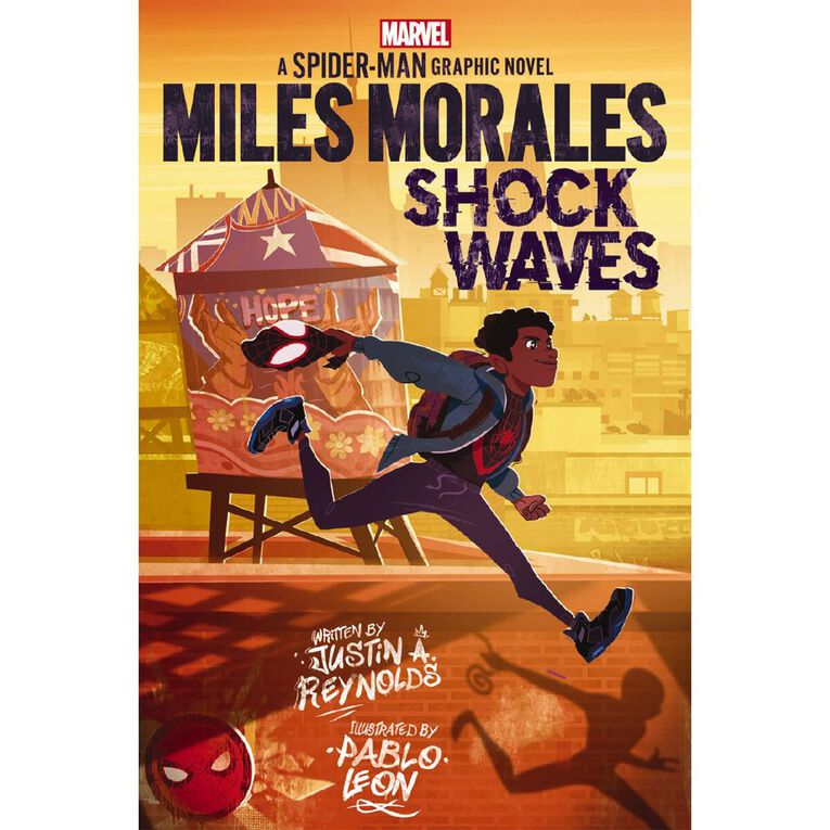 Spider-Man: Miles Morales Graphic Novel #1 by Justin A Reynolds, , hi-res