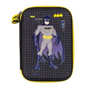 Batman Warner Bros Hardtop Pencil Case Blue Dark