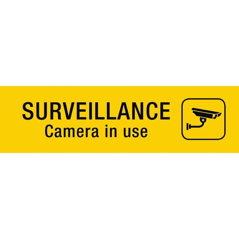 APLI Self Adhesive Surveillance Camera Black, , hi-res
