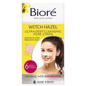 Biore Ultra Nose Strips 6 Pack