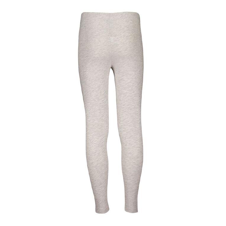 Young Original Plain Leggings, Grey Light, hi-res