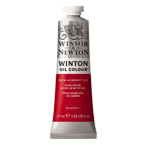 Winsor & Newton Winton Oil Cad Scarlet Hue 37ml