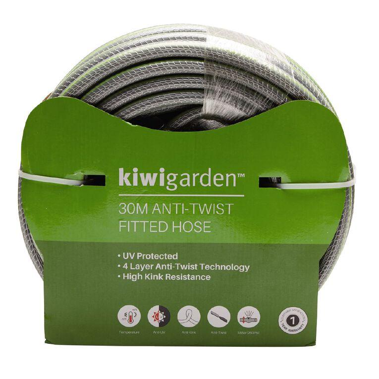 Kiwi Garden Anti-Twist Fitted Hose Green 30m, , hi-res