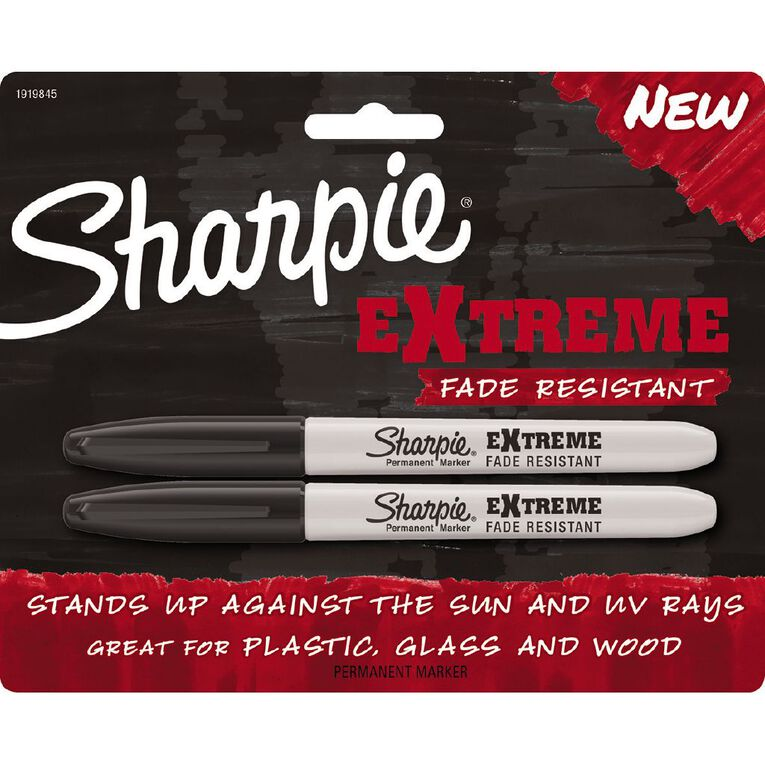 Sharpie Extreme Marker 2 Pack Black, , hi-res