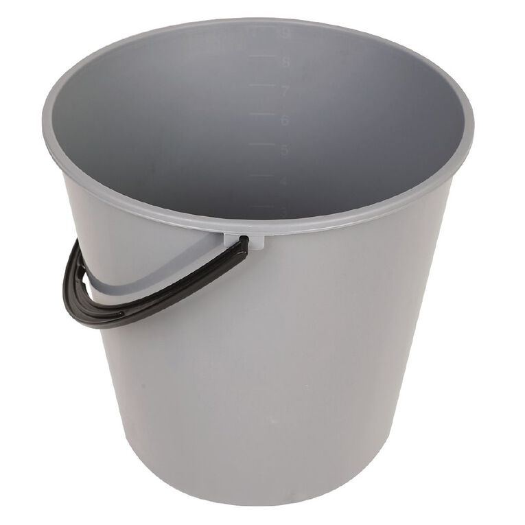 Living & Co Plastic Bucket Assorted 9.3L, , hi-res