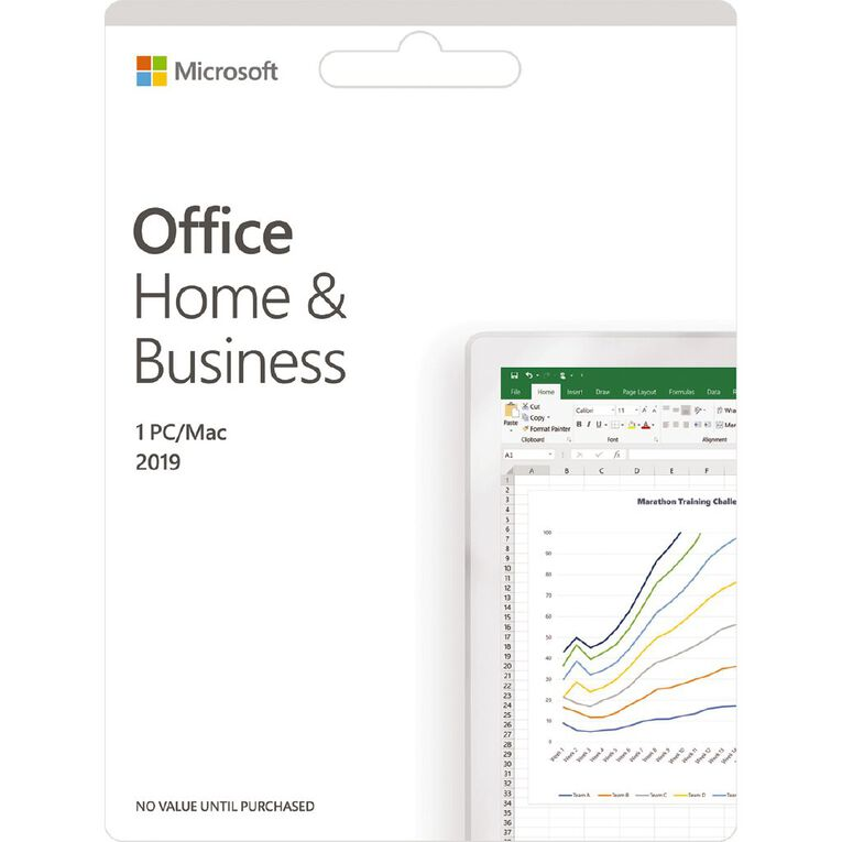 Microsoft Office 2019 Home & Business, , hi-res